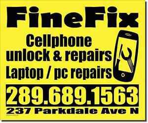 Cheap cellphone unlocking and repair
