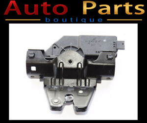 BMW 1 3 5 Series 98-14 Trunk Lid Lock w/Micro Switch 51248196401