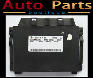 Mercedes E320 E500 2003 Transmission Control Unit 0325451432