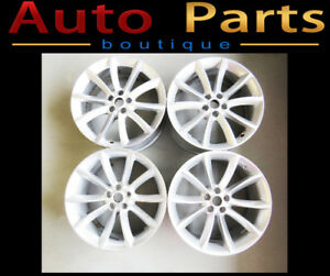 "Jaguar F-Type OEM 19"" Wheel Rim Set of 4 EX531007DA EX531007CA"