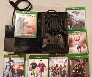 Xbox One + 1 Controller + 7 Games