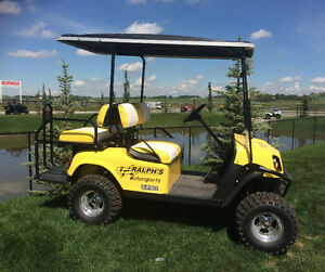 4 Seater Electric All Terrain Golf Cart - Only $69 Bi-Weekly!!!