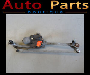 AUDI A6 05-11 FRONT WINDSHIELD WIPER MOTOR W/ LINKAGE 4F1955119D