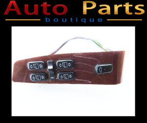 00-02 MERCEDES W220 S430 S500 MASTER WINDOW SWITCH FRONT DRIVER