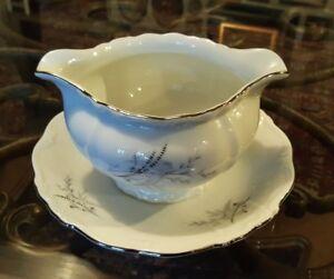 Vintage Edelstein German Porcelain - Attached Gravy Boat