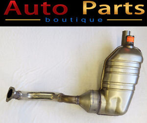 Porsche Boxster 09-12 Right Muffler Acoustic Package 98711311832