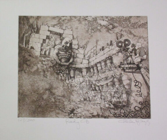 Brilliant Limited Edition Etching Print by Charles Bragg!
