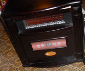 Infrared Heater - Like new (Remote) For those chilly mornings