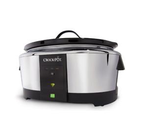 Crock-Pot® WeMo® Enabled Smart Slow Cooker, 6-qt