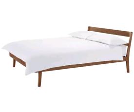 Habitat Tatsuma King Size Bed Frame - Walnut