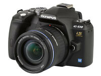 OLYMPUS DSLR DIGITAL CAMERA E510 - comes fully boxed