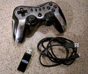 Manette sans-fil pour PC/PS3 Intec Turbo Shock III