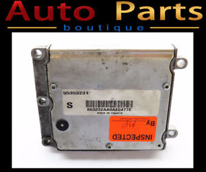 Saab 9-3 2006 OEM Engine Control Unit ECU ECM 55353231
