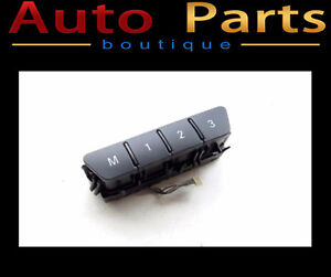 MERCEDES-BENZ B250 2011-2015 SEAT MEMORY SWITCH  2469054801
