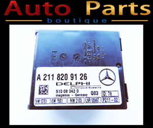 Mercedes C320 2000-2012 Anti-Theft Alarm Control Unit 2118209126