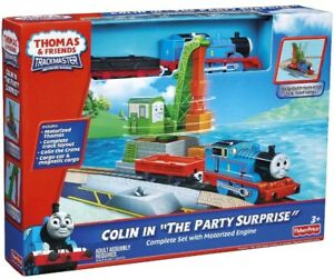 THOMAS & FRIENDS TRACKMASTER LA FÊTE SURPRISE DE COLIN TRAIN