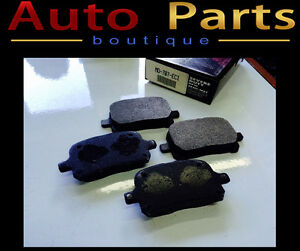 Toyota Lexus 1997-2004 New Semi Metallic Brake Pads MD-707-ECI