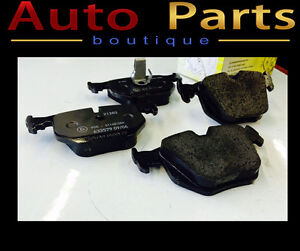 BMW M3,M5,740i,750iL 95-06 REAR BRAKE PAD SET TEXTAR 34216761250