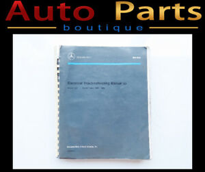 MERCEDES ELECTRICAL MANUAL MODEL 124 YEARS 1986--1992 S255993A