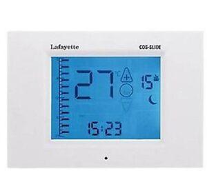 Termostato digitale programmabile universale touch screen for Termostato touchscreen gsm vimar 02906