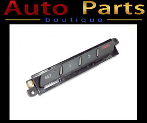 AUDI A6 Q7 05-15 DRIVER'S MEMORY SEAT SWITCHES 4F1959769A