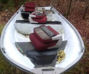12' Fiberglass boat with trailer - project, DELIVERY