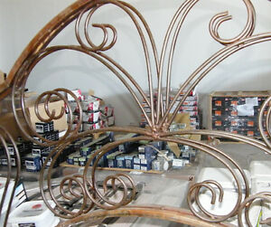 Welded steel arch 6 foot tall - have 2 of them London Ontario image 2
