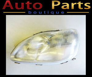 Mercedes S430 00-03 OEM Headlight Assy Halogen Left 2208200561