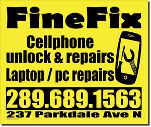 CELLPHONE REPAIRS & UNLOCK