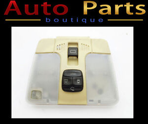 Mercedes C230 1993-2003 Dome Light w/Sunroof Switch 2088201901