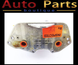 Audi A6 Q5VW Touareg 05-17 OEM Engine Oil Cooler 06E117021G