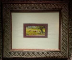 Cadre avec mouton - Decorative Frame with sheep
