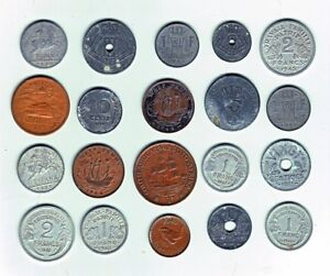 20 different World War 2 coins...72+ years old