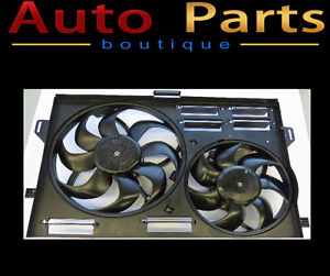 ASTON MARTIN DB9 2008-2012 COMPLETE COOLING FAN ASSEMBLY OEM 8D3