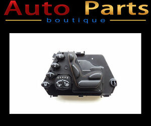 MERCEDES-BENZ S CLASS 1998-2006 OEM LH SEAT SWITCH 2208219351