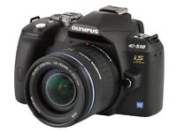 OLYMPUS DSLR DIGITAL CAMERA E510 - BOXED WITH ACCESSORIES