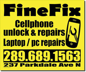 laptop/pc/tablet/ipad/cellphone repairs and unlocking