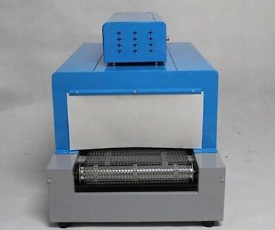 4kw Thermal Heat Shrink Packaging Machine Tunnels For Pp Pof Pvc
