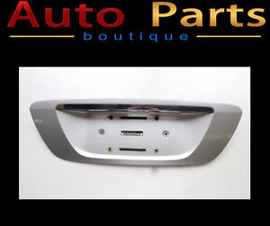 MERCEDES-BENZ S 98-06 Trunk Lid License Plate Panel 2207500181