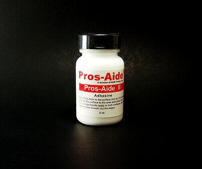 Pros-Aide II Sensitive Skin Adhesive Special FX Prosthetic 2 oz Glue Less Tacky - Tacky Glue
