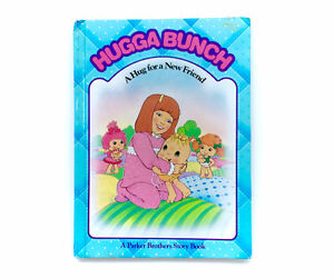 Vintage Huggabunch A Hug For A New Friend Hardcover Book 1985