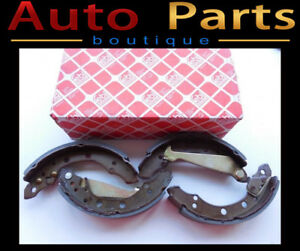 VW Cabrio Golf Jetta 1989-1999 Rear Drum Brake Shoe Set 1H069852