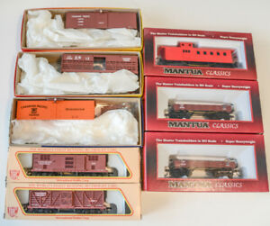 HO Scale C P, C&S Old Time Truss Rod Freight Cars Lot NEW