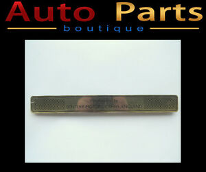 BENTLEY MULSANNE 2012 OEM LEFT LOWER TREAD TRIM 3Y5853553D