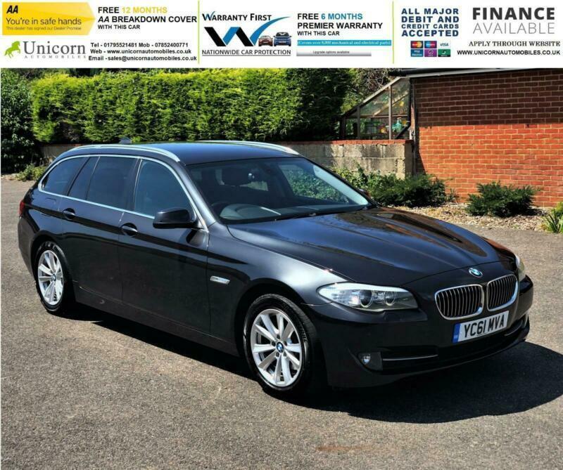 Bmw 520d Touring: 2011 BMW 5 Series 2.0 520d SE Touring PRO NAV, SPORT GEAR