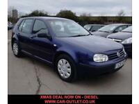 2002 S VOLKSWAGEN GOLF SE 1.9 TDI 5D 99 BHP-XMAS SALE ON NOW DIESEL