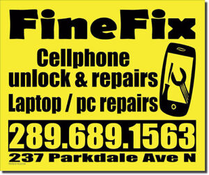 cellphone repairs & unlocking