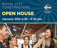 Royal City Toastmasters Open House