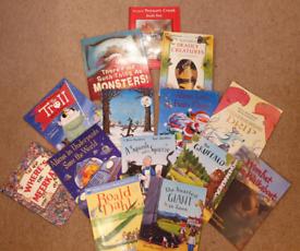 Kids book bundle x 14