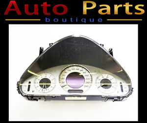 Mercedes E320 500 02-06 OEM Instrument Cluster in KM 2115407111